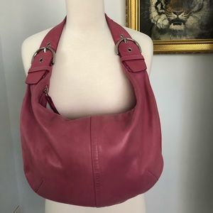 Coach soft calf leather limited edition hobo bag